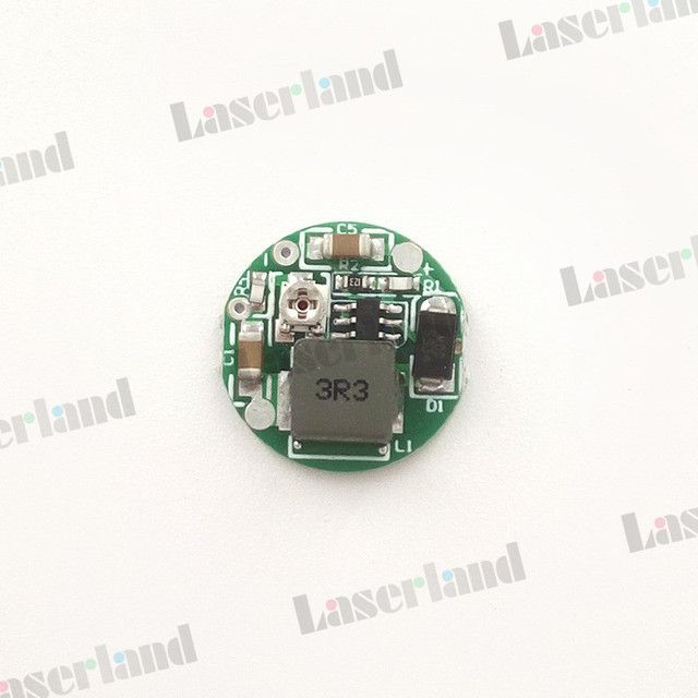 3.7-4.2VDC 1W -2 W Blue 445nm 450nm Laser Diode LD Driver Power Supply 2.5A suitable for a 18650 lithuim battery
