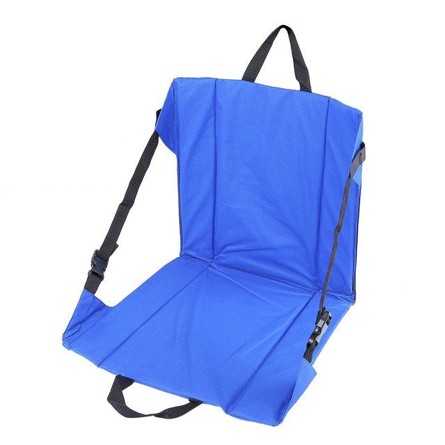 Lightweight Folding Camping Hiking Stool Seat Cushion Mat Chair Pad Seat with Magic Tape For Fishing Picnic BBQ Outdoor Party