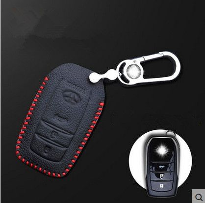 Best quality! Special car key case for Toyota RAV4 2013-2009 wear-resisting durable key holde car key wallet,Free shipping
