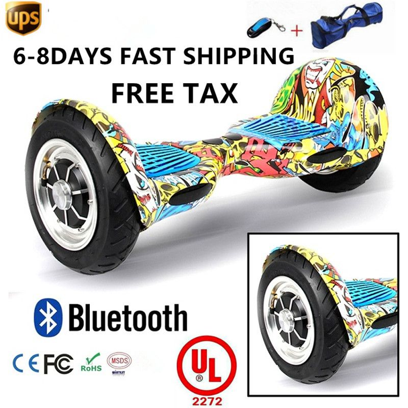 2017 new 2 wheel self-balancing electric scooter powerful giroskuter hoover board smart gyroscooter 10inch hoverboard overboard