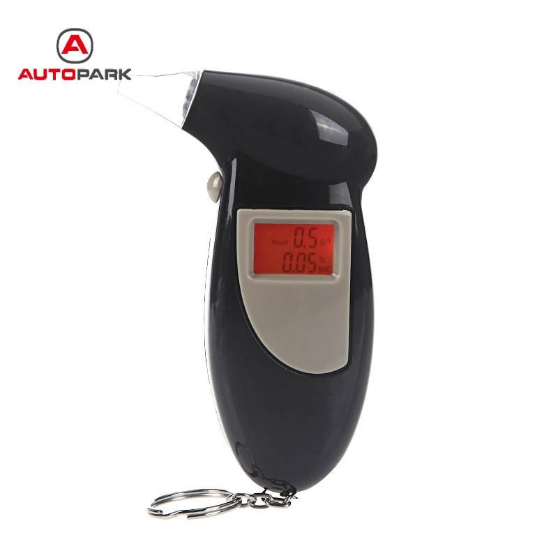 alcohol tester professional digital breath alkohol tester LCD Display alcohol breath tester Breathalyzer Analyzer Detector