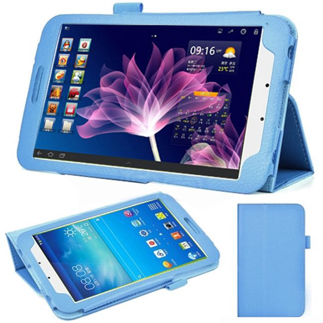 For Samsung Galaxy Tab 3 8.0 Leather Case  Cover for Samsung Galaxy Tab 3 T310 T311 Stand Tablet Protective Cases+stylus