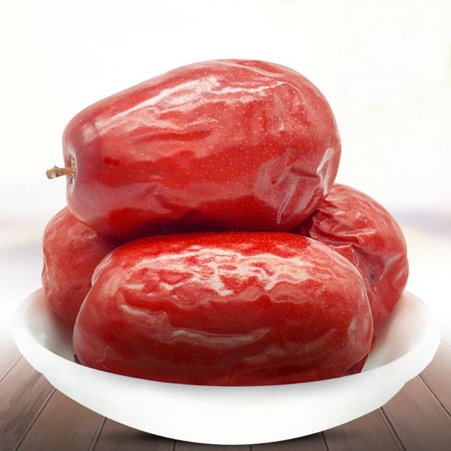 1000g Super Grade Red Dates Chinese Red Jujube Dried Fruit 100% Natural Beauty Enrich Blood Green Food H4051-35