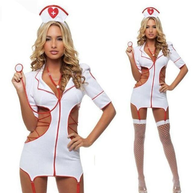 NELLBANG2017 Europe and America sexy lingerie suit uniforms nurse role-playing game cosplay costume halloween costumes for women
