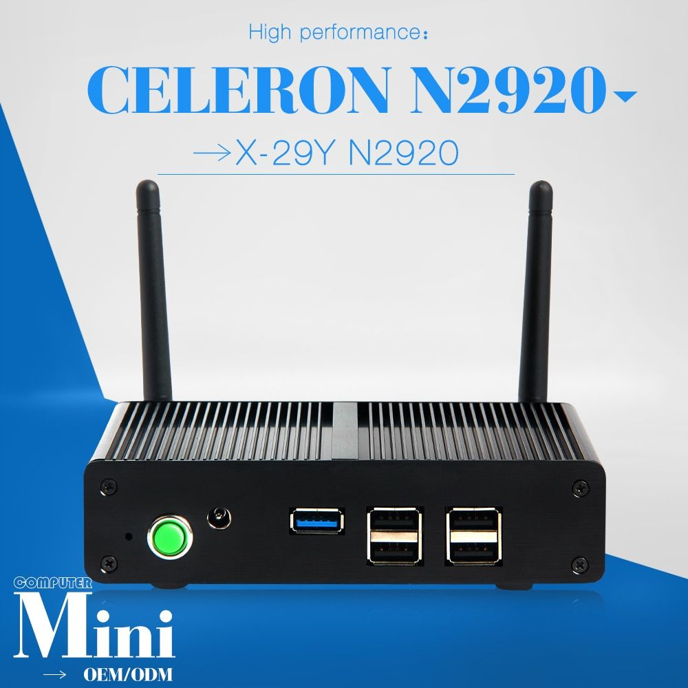 hot selling N2920 4g ram 64g ssd Best Computer Brand Home Computer Home Theater PC wireless bluetooth mini pc