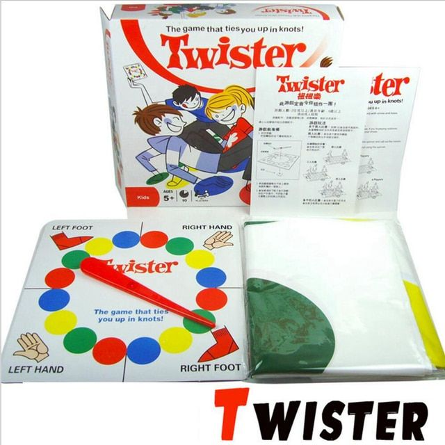 Hot sale board game, Twister Game That Ties You Up In Knots Board Games Party Family Children Friend Board Game