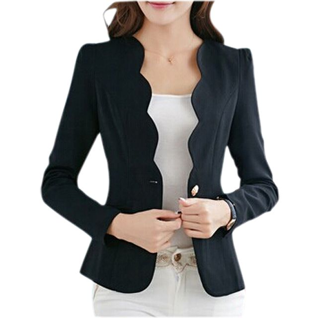 SYB 2016 NEW Autumn casual jackets women slim short design suit jackets office women coat clothing