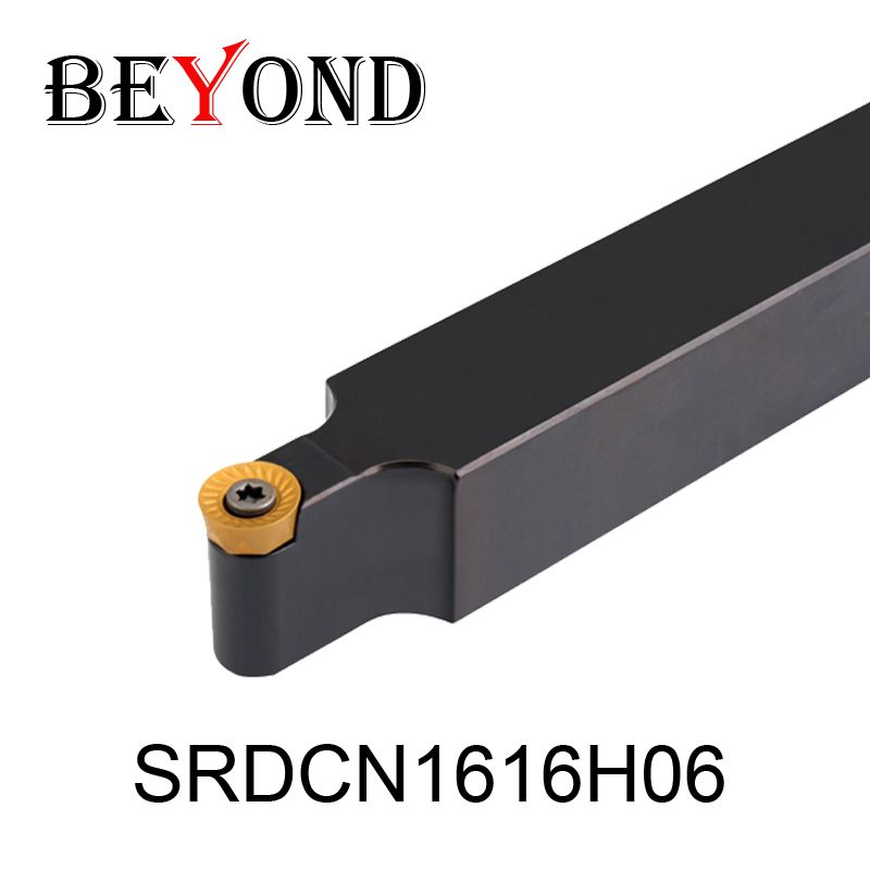 SRDCN1616H06 Carbide Inserts RCMT0602MO 16mm Metal Lathe Cutting Tools Machine Cnc Turning External Holder S-type SRDCN OYYU