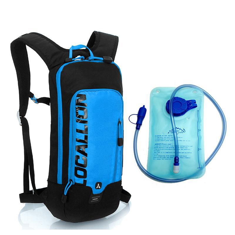LOCAL LION Cycling Backpack Hydration Waterproof Backpack With Water Bladder Bag Running Sports Bag Backpack Cycling Rucksack 6L