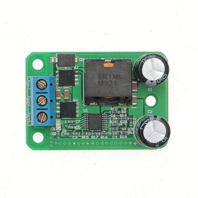 Hot Sale 9V-35V To 5V 5A 25W DC-DC Buck Synchronous Rectification Step Down Power Supply Converter Module 45X31 X16mm Boards