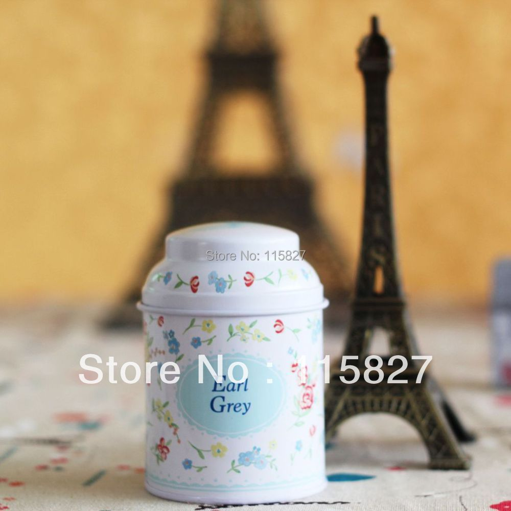Free Shipping!3pcs/lot Tea caddy tea canister earl grey tin case iron container