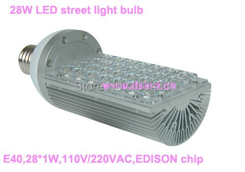 CE,28W LED street light bulb,E40 LED light bulb,110V/220VAC,,good quality,DS-SL-1,2-year warranty