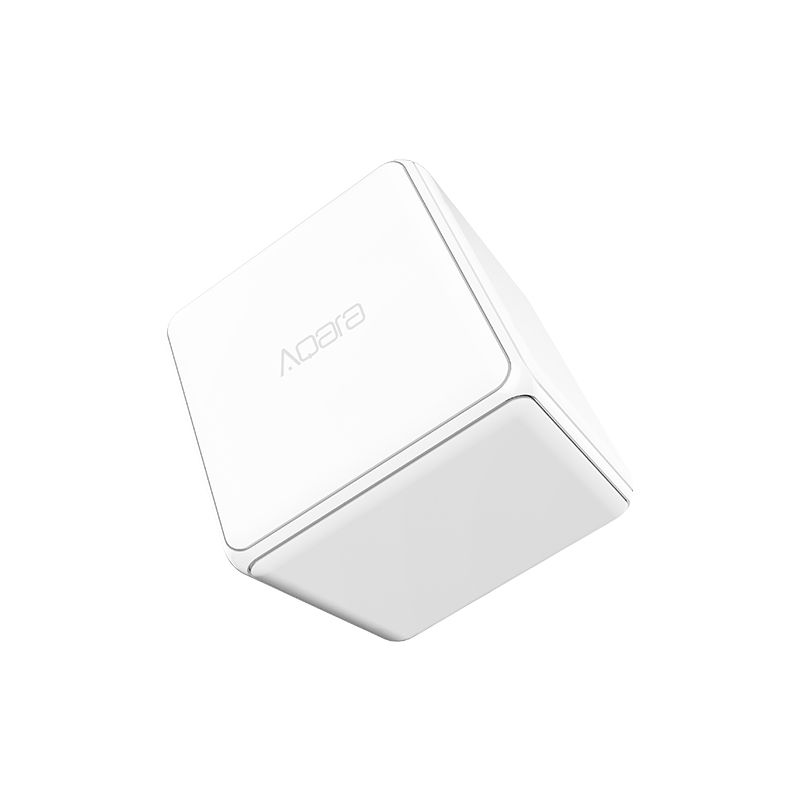 New Xiaomi aqara Cube Controller Zigbee Version Controlled by Six Actions with Phone App for Smart Home Device TV Smart Socket