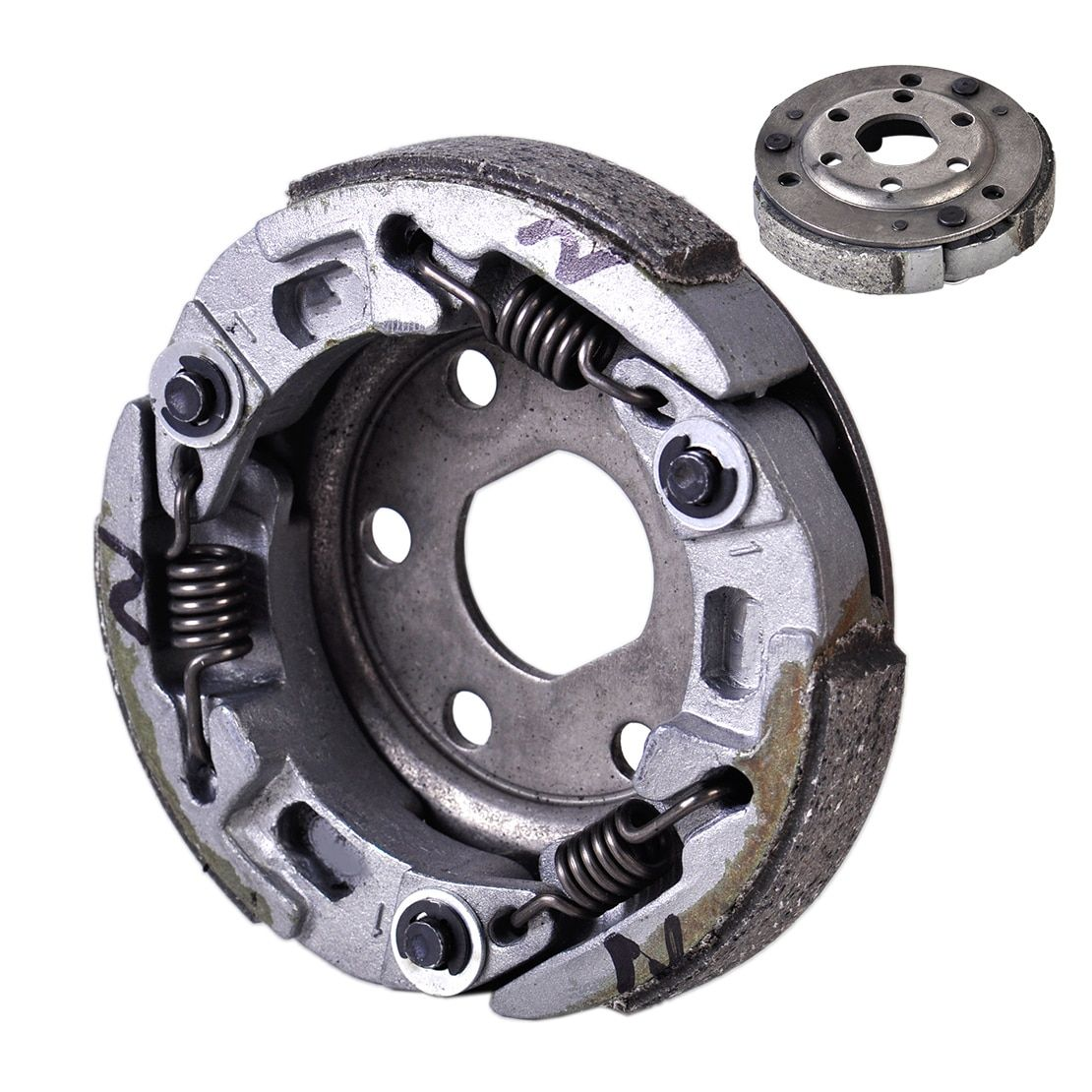 DWCX Motorcycle High Performance Racing Clutch Replacement for GY6 139QMB 50cc Scooter ATV Quad Moped Loncin Yamaha Honda Suzuki
