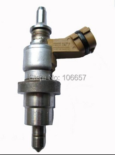 Free shipping high quality electric fuel injector 23710-26011 23710-26012 for Lexus Toyota fuel injector