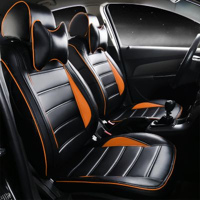 special car auto leather seat cover for Peugeot 301 2008 308 408 508 3008 RCZ 208 4008 308S Caddy Combi VR6 multivan Golf GTI CC