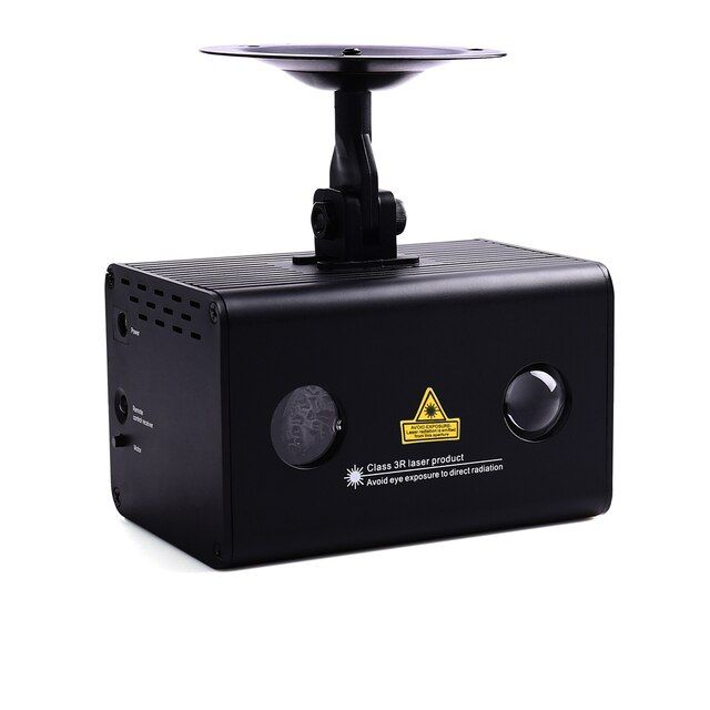 New Music Laser Disco Light Aurora Effect Star Projector Combining Full Color LED Wireless Remote Control and Sound Stage Light