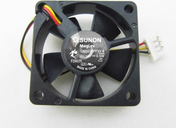 New Original SUNON 3510 GM1235PFV2-8 F.GN 12V 0.5W 3Wire Cooling Fan