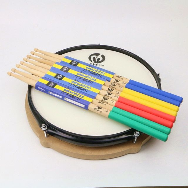New 1 Pair 5A Drumsticks Maple Wood Lightweight Djembe Instrumentos Musicais Percussion Drum Drums Set Stick Drumsticks