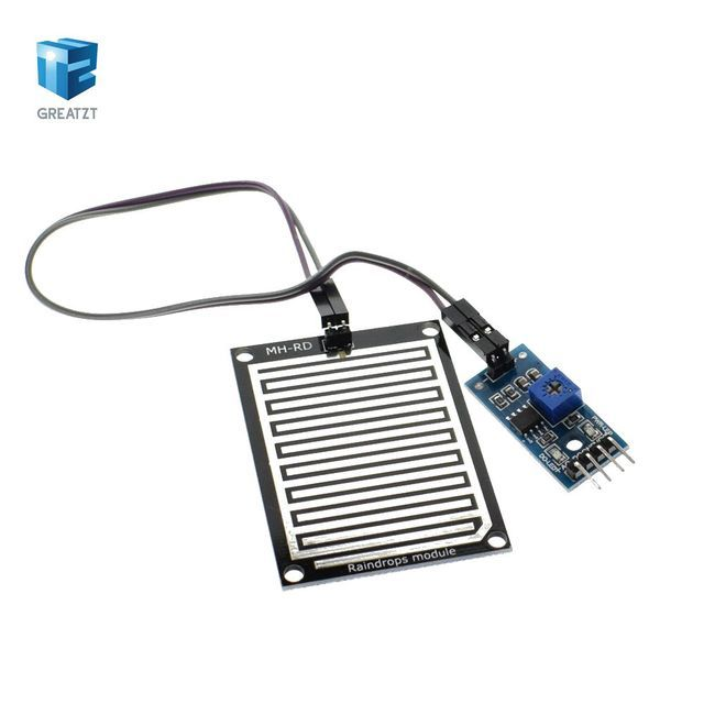 1set/lot Snow/Raindrops Detection Sensor Module Rain Weather Module Humidity For Arduino
