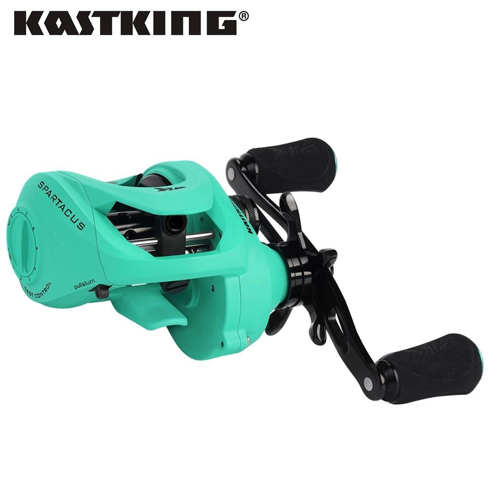 KastKing Spartacus Maximus 11.33KG Drag Baitcasting Reel 6.3:1 High Speed Bait Casting Lure Fishing Reel Wheel for Bass Fishing