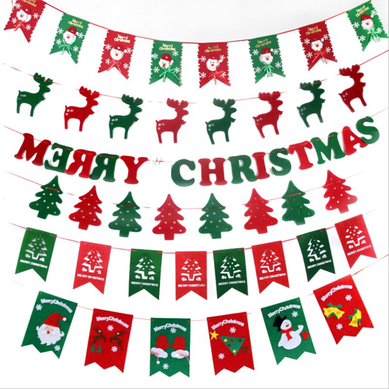 Super Banner Christmas decoration for home Outdoor/tree deco for Navidad Natal Xmas party supplier