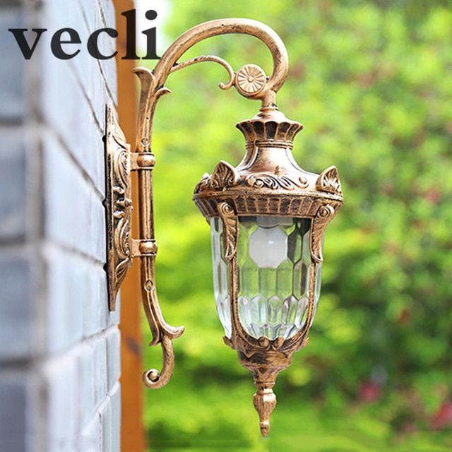 Europe Outdoor Wall Lamp American Style Retro Exterior Light Waterproof O Garden Lights
