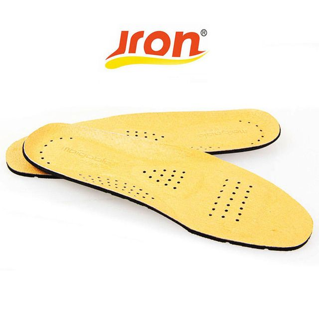 First Layer Pigskin Leather  Insole Orthotic Pronation Insoles For Man Feet Beauty Shoes Cushion New Unisex Insert