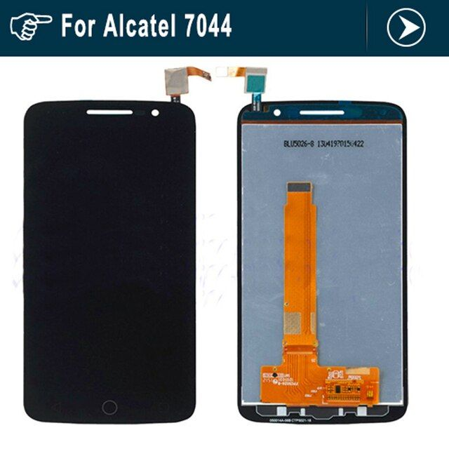 For Alcatel One Touch Pop 2 Premium 7044 OT7044 Full LCD display+touch screen digitizer assembly