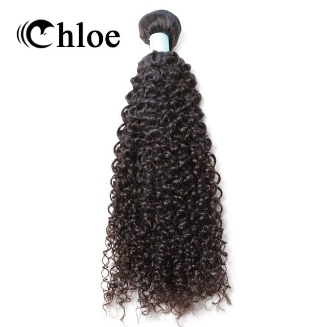 Chloe Hair Weave Brazilian Remy Hair Weft Kinky Curly 100% Human Hair Bundles 8 - 30inch Free Shipping