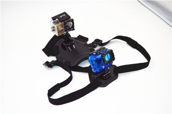 RB For GoPro Accessories dog Harness Strap Belt Mount for Gopro Hero Session 4/3+/3/SJ4000/SJ5000/SJCAM/XIAO MI YI Camera GP203