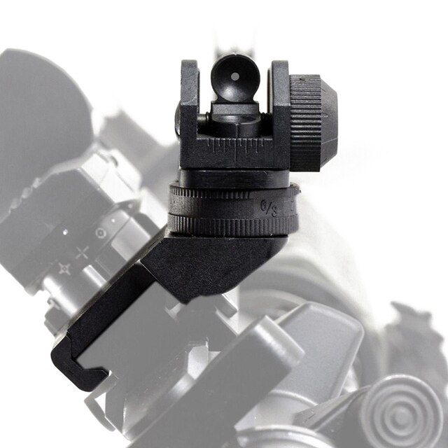 New Arrival Front Rear Sight 45 Degree Offset Rapid Transition Backup Iron Sight Rapid Rifle RTS Sight