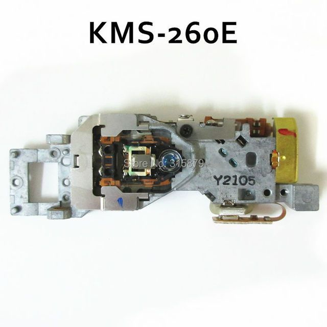 2 pieces/lot Original KMS-260E for SONY MD Laser Pickup Head KMS260E KMS 260E KMS260