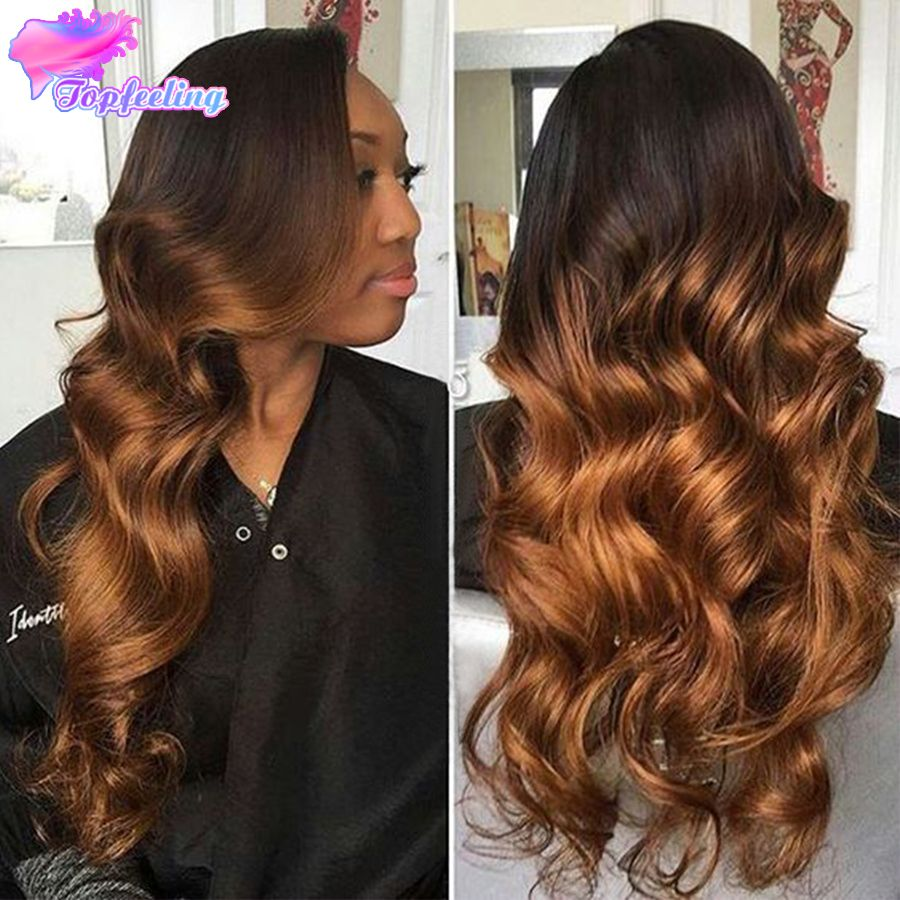 Ombre Wig Human Hair Brazilian Full Lace Human Hair Wigs Ombre For Black Women Loose Wave Ombre Lace Front Wig Virgin Hair Ombre