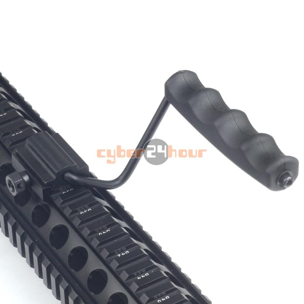 New Rifle Flat Top Folding Carry Handle for Picatinny / Weaver Rail 21mm M60 Style Free Shipping!