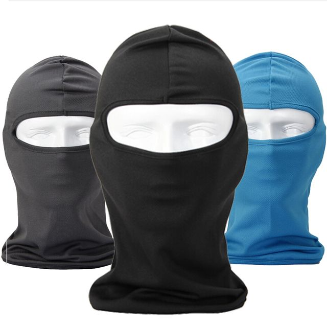 Balaclava Summer Breathable Outdoor Sports Ski Tactical Paintball Airsoft Head Hat Motorcycle Cycling UV Protect Full face Mask