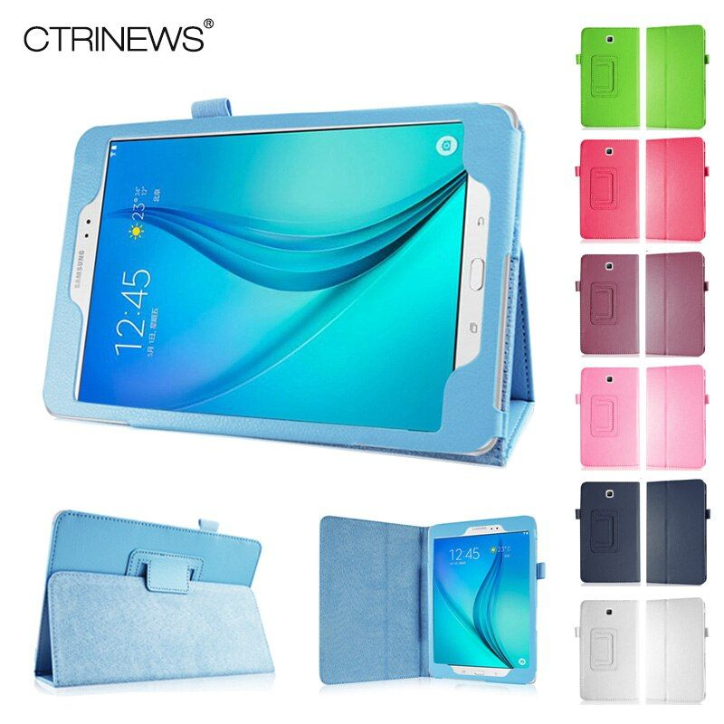 CTRINEWS Case For Samsung Galaxy Tab A 8.0 T350 Stand Leather Cover for Samsung Galaxy Tab A T350 T355 Flip Leather Tablet Cases