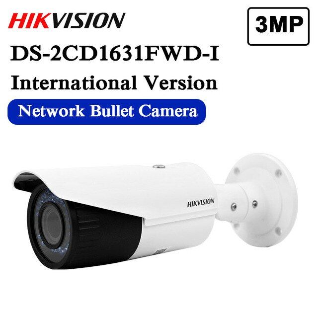 In stock DHL free shipping DS-2CD1631FWD-I replace DS-2CD2632F-IS DS-2CD2635F-IS/ZJ varifocal zoom IP POE camera outdoor camera