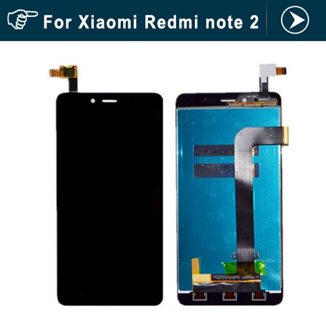 Original LCD Display+Touch Screen For Xiaomi Redmi Note 2 Digitizer Glass Panel For Xiaomi Redmi Note 2