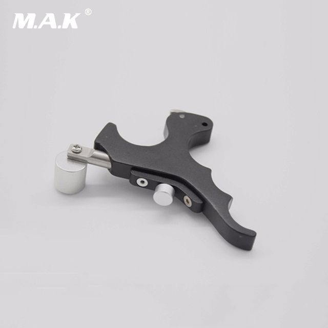 New Style Black Stainless Steel Archery Caliper Release Archery with Box for Compound Bow Hunting Accessory