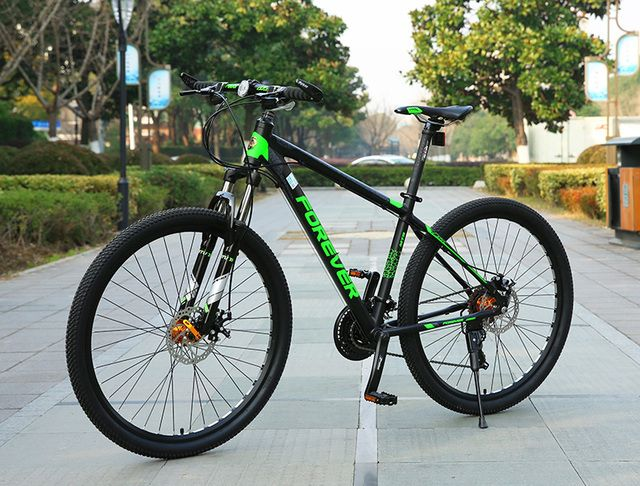 FOREVER 27.5 inch big wheels aluminium alloy 30 speed Mountain Bike Double disc Bicycle