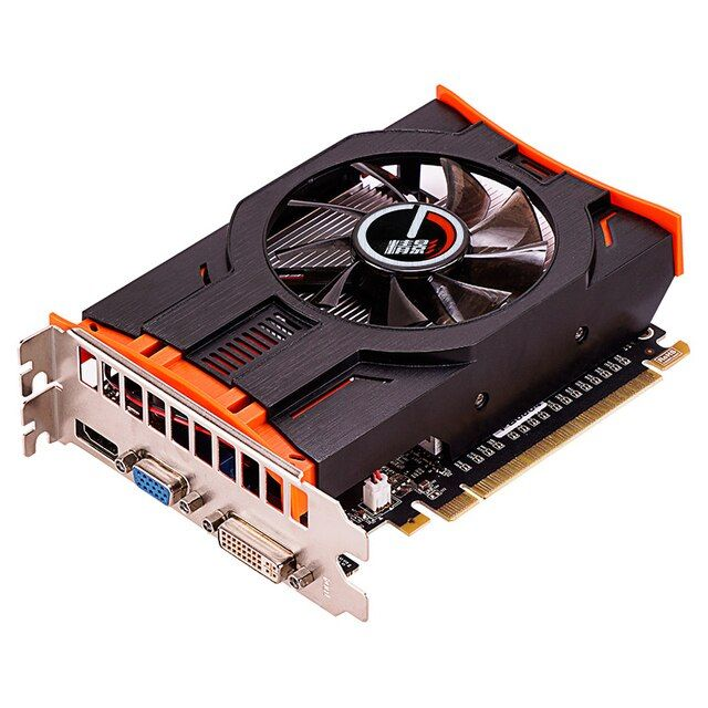 JYVGA Nvidia GTX650 1G DDR5 video card GTX650 graphics card 6pin power supply 2 different designs 2 years warranty