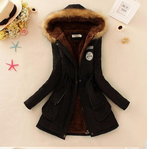 Basic jackets coat Winter Jacket Women 2017 winter coats women outerwear free shipping coat hooded Women's Clothing JACKETS  986
