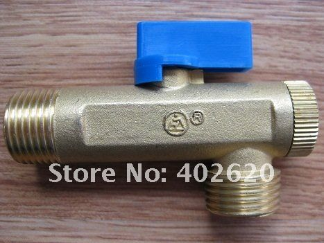 "Free shipping normal closed 1/2"" air compressor electrical drain valve, solenoid valve with timer, water valve"