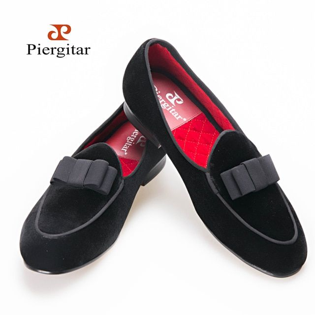 Men loafers wedding and banquet shoes butterfly section design meticulously stitching velvet fabric US6-14