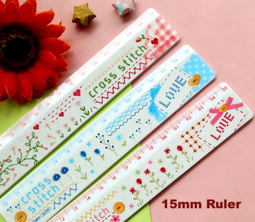 New 15cm Rulers Home ruler Kawaii stationery Free shipping (ss-a420)
