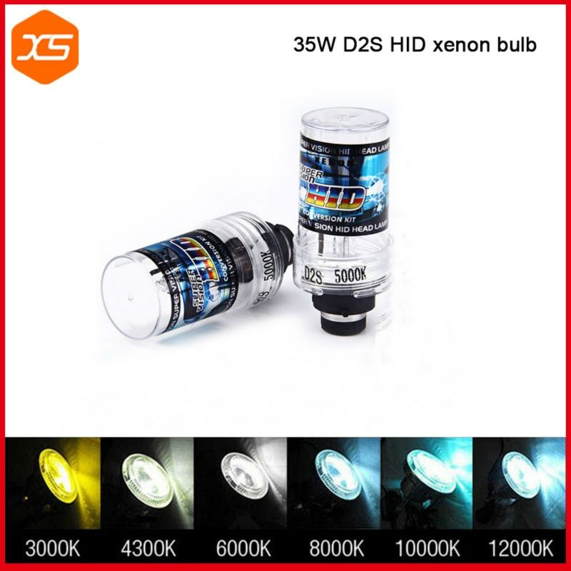 2 PCS 12V 35W D2S Xenon Bulb 4300 6000 8000 10000K Xenon D2S D2C HID Xenon Replacement Bulb for Car Headlight D2S 4300K
