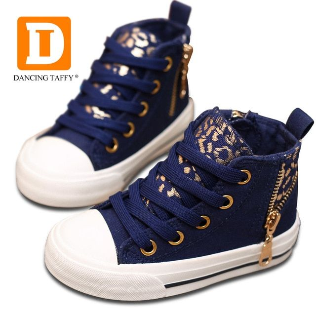Fashion Leopard Children Shoes New 2019 Spring Brand Casual Kids Sneaker Canvas Shoes For Girls & Boys Size 23-37 Good Quality