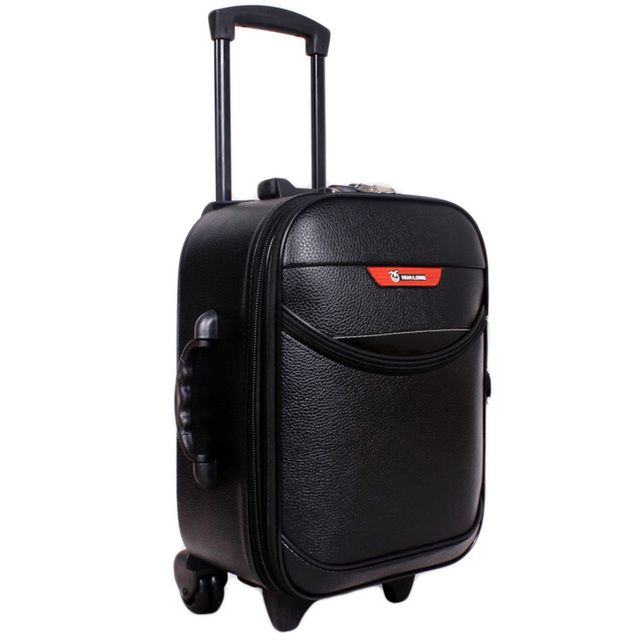 16inch Trolley Traveling Bags Vintage Men Women Suitcases on Wheels for Men Wheelchairs Password Lock Boarding Rolling Luggage