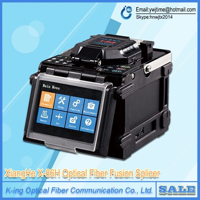X-86H FTTH Fusion Splicer Optical Fiber Fusion Splicer X86 X-86 X86H FTTx Fiber Optic Fusion Splicing Welding Machine